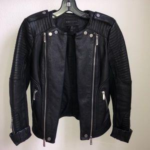BCBGMaxAzria Jackets & Coats - BCBG 🔥 Black leather jacket